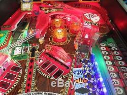 Riverboat Gambler Pinball Machine by Williams (1990)