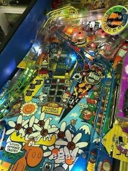 Rocky & Bullwinkle Pinball Machine