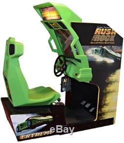 SAN FRANCISCO RUSH the ROCK ARCADE MACHINE by ATARI (Excellent Condition) RARE