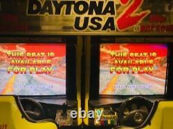 SEGA Daytona USA Twin Arcade Machine