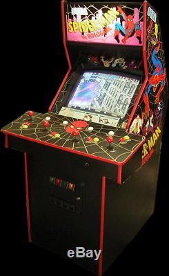 SPIDER-MAN ARCADE PACKAGE PINBALL & ARCADE MACHINE (Excellent Condition)