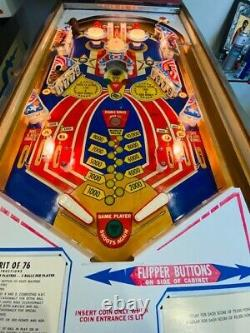 SPIRIT OF 76 PINBALL BY GOTTLIEB- Classic Pinball -Excellent Condition
