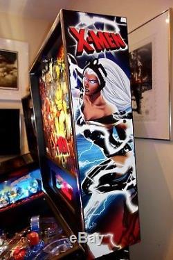 STERN 2012 X-MEN PRO Arcade Pinball Machine LEDS EXCELLENT CONDITION