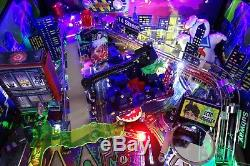 STERN 2016 GHOSTBUSTERS Limited Edition ARCADE PINBALL MACHINE FULLY MODDED
