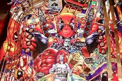 STERN 2018 DEADPOOL Pro Arcade Pinball Machine Home Use Only EXCELLENT CONDITION