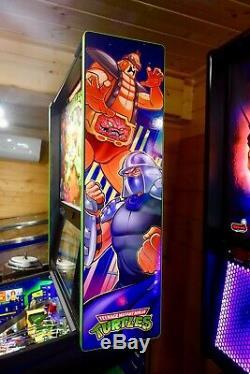 STERN 2020 TEENAGE MUTANT NINJA TURTLES Arcade Pinball Machine MINT Condition