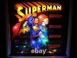 SUPERMAN Complete LED Lighting Kit custom SUPER BRIGHT PINBALL LED KIT