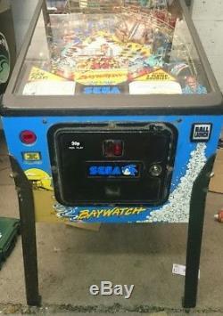 Sega Baywatch Pinball