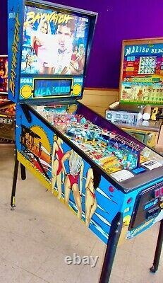 Sega Baywatch Pinball Machine