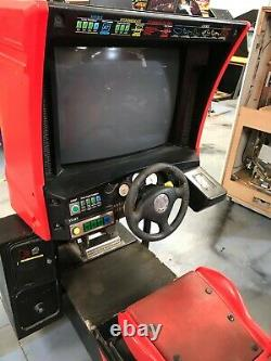 Sega Ferrari F355 Arcade Machine PROJECT MAME Conversion Repair Restore 306B