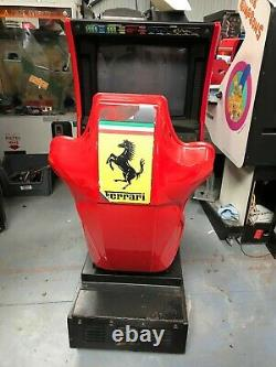 Sega Ferrari F355 Arcade Machine PROJECT MAME Conversion Repair Restore 344A