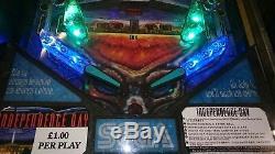 Sega Indepedence Day Pinball