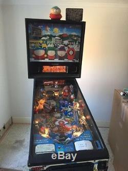 Sega South park pinball machine. Great condition