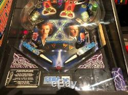 Sega X-Files Pinball Machine 1997- Stunning Pin Mulder and Scully Xfiles Pin