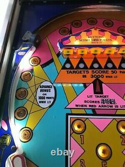 Segasa (Williams) Baby Doll Pinball Machine Very Very Rare
