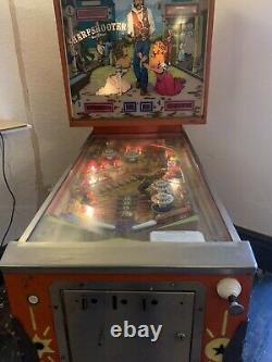 Sharpshooter Pinball Machine