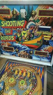 Shooting The Rapids Pinball