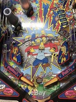 Simpsons Party Pinball Machine
