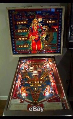 Six Million Dollar Man Pinball Machine