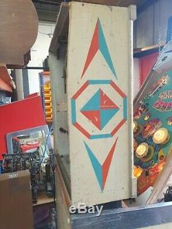 Spin-A-Card Pinball Machine 1969, Manufactured by D. Gottlieb & Co