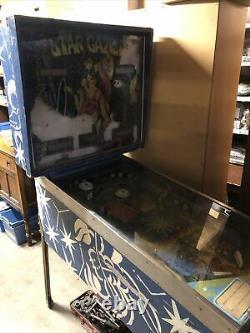 Star Gazer Stern Pinball Machine Rare Project