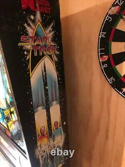 Star Trek 1991 data east Pinball collectors item coin operated. Excellent cond