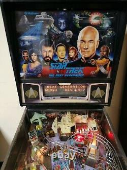 Star Trek Next Generation Pinball Machine