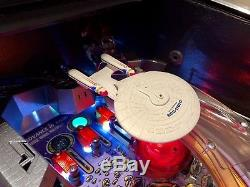 Star Trek Next Generation Pinball Machine Excellent Working Order