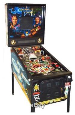 Star Trek Pinball Machine CULT Classic game Coin set to free play