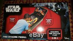 Star Wars Free Standing PinBall Machine Electronic Kids Game Room