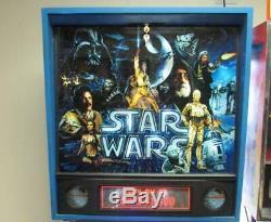 Star Wars Pinball Arcade Machine Data East. LED Bulbs Kit Installed. Free Ship
