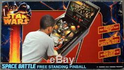 Star Wars SPACE BATTLE Free Standing PINBALL Machine 2013 NEW IN BOX HTF++