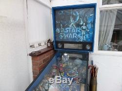 Star wars pin ball machine