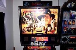 Stern 2008 INDIANA JONES Arcade Pinball Machine LEDS