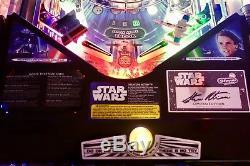Stern 2017 Star Wars Limited Edition Arcade Pinball Machine Huo Mods Mods Mods