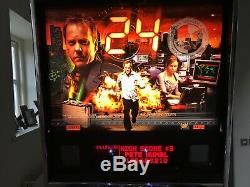 Stern 24 Pinball Arcade Machine, Fully Working, Lovely Condition