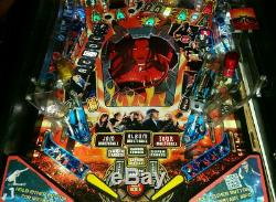 Stern AC/DC arcade pinball PRO with extras! TOTALLY ROCKS