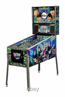 Stern Beatles Diamond Edition Pinball Machine New in Box Only 100 Made