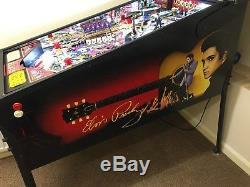 Stern Elvis Pinball Machine Superb Condition. Elvis Presley Pintable
