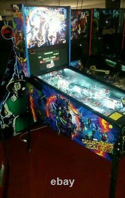 Stern GUARDIANS OF THE GALAXY PRO arcade pinball machine superb throughout