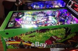 Stern HUO GHOSTBUSTERS LIMITED EDITION ARCADE PINBALL MACHINE & TOPPER & MODS