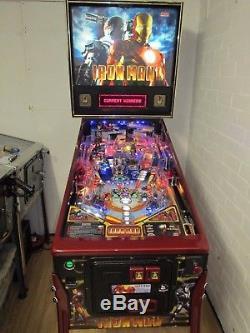 Stern Iron Man Pinball Machine