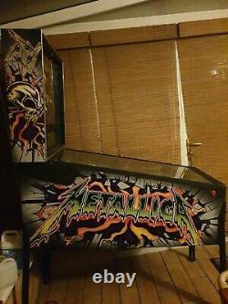 Stern Metallica Pinball Machine