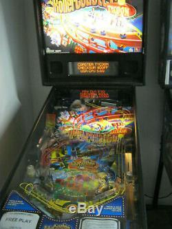 Stern Roller Coaster Tycoon PINBALL MACHINE