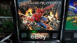 Stern Spiderman Pinball Very Nice Indeed