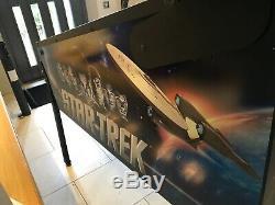Stern Star Trek Pinball Arcade Machine, Fully Working, Beautiful Example