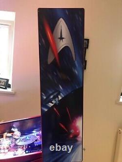 Stern Star Trek Premium Arcade Pinball Machine, Fully Working