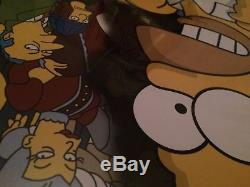 Stern The Simpsons Pinball Party, pinball machine Cabinet Full Decal Set