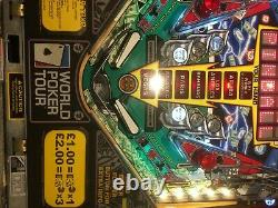 Stern World Poker Tour Pinball Machine in Lovely Condition