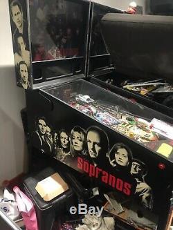 Stern sopranos pinball machine